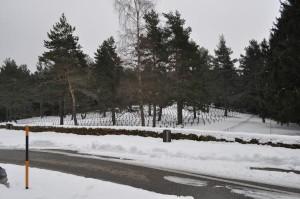 Ein häufigeres Ziel unserer Ausflüge: Ein Soldatenfriedhof aus dem Ersten Weltkrieg. Hier: Der Soldatenfriedhof Hohrod
