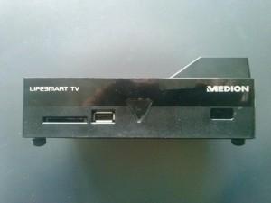Vorderseite des Medion Lifesmart TV