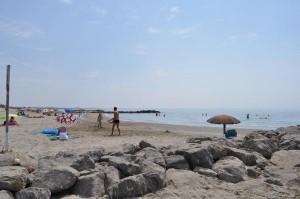 Der Strand von Carnon