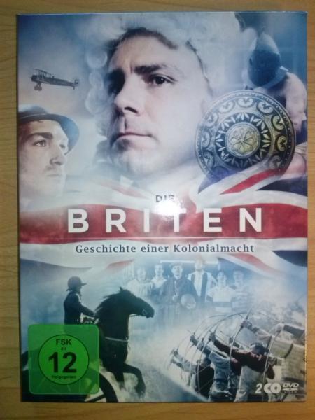 """DVD """"Die Briten - Geschichte einer Kolonialmacht"""""""