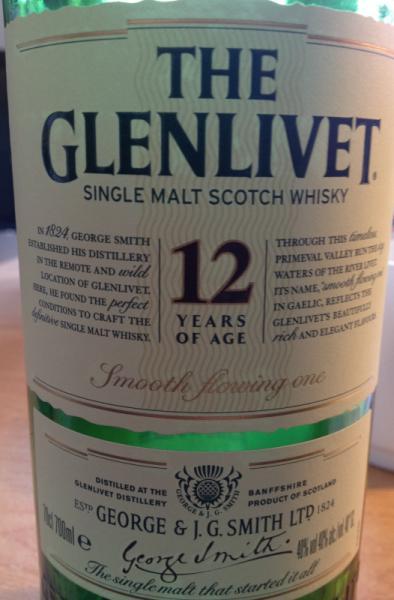 Glenlivet, 12 Jahre alt