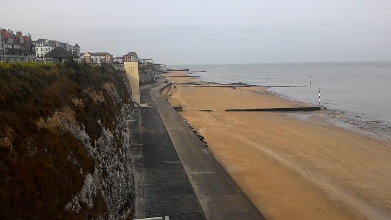 Strandpartie von Margate