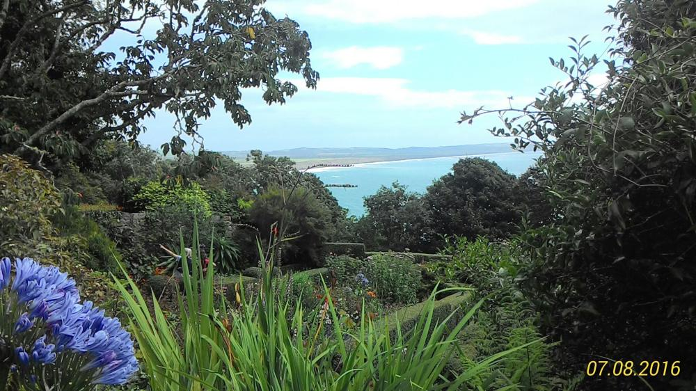 Blick auf das Meer bei Plas yn Rhiw