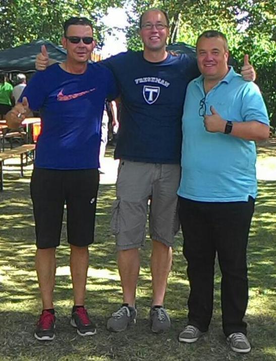 von links: Alexander Klose, Ingo Sorge und ich